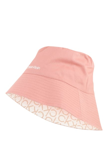Calvin Klein Bucket-Hat zum Wenden , Farbe: ROSA (Bild 1)