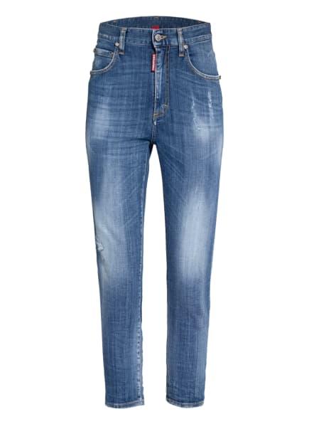 DSQUARED2 7/8-Jeans mit Schmucksteinbesatz, Farbe: 470 (Bild 1)