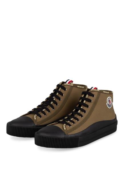 MONCLER Hightop-Sneaker LISSEX, Farbe: OLIV/ SCHWARZ (Bild 1)