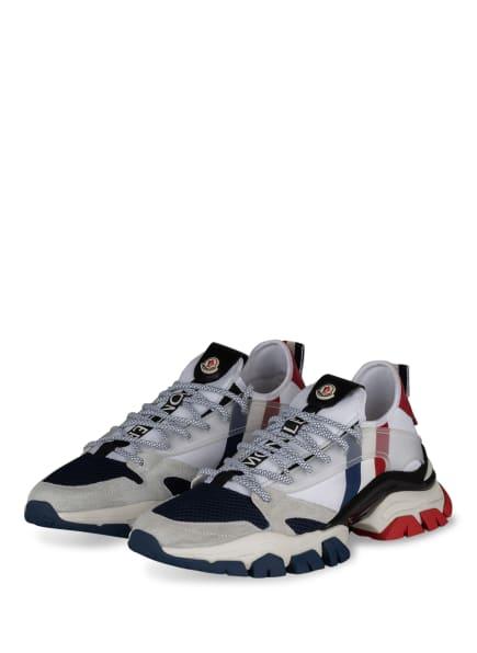 MONCLER Sneaker TREVOR, Farbe: WEISS/ BLAU/ DUNKELROT (Bild 1)