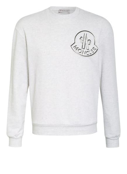 MONCLER Sweatshirt, Farbe: HELLGRAU (Bild 1)