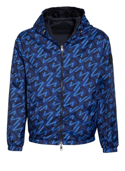 MONCLER Jacke zum Wenden, Farbe: BLAU/ SCHWARZ/ HELLBLAU (Bild 1)