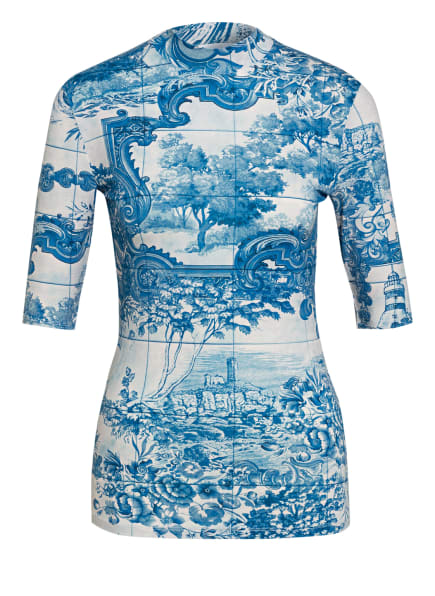 BOSS T-Shirt EMERILLA, Farbe: BLAU/ HELLBLAU (Bild 1)