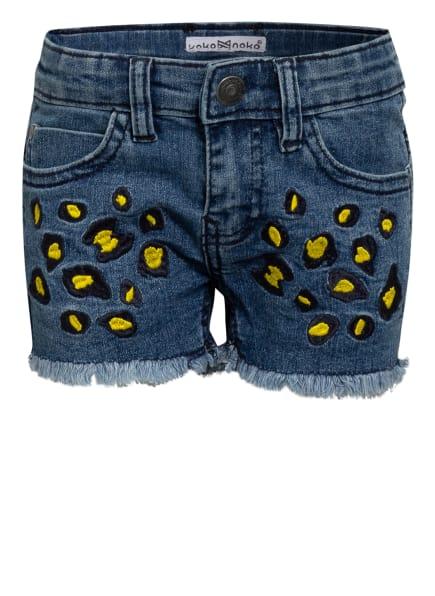 Koko Noko Jeans-Shorts, Farbe: BLAU (Bild 1)