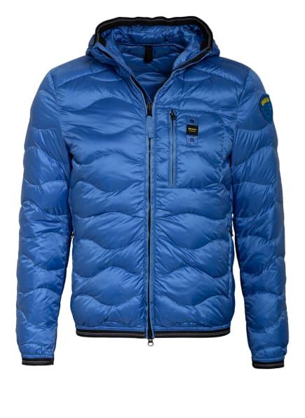 Blauer Daunenjacke , Farbe: BLAU (Bild 1)