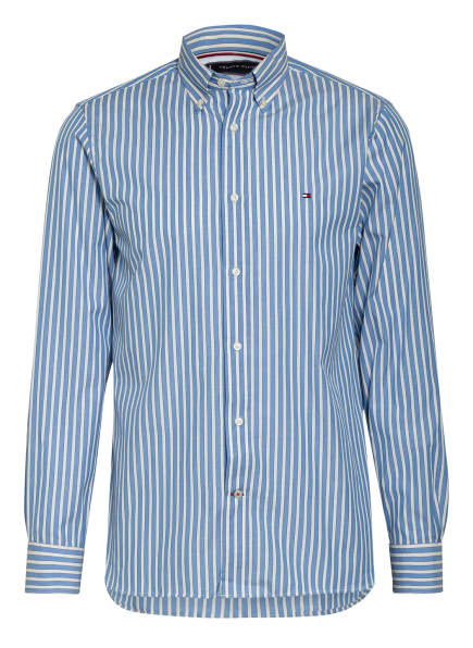 TOMMY HILFIGER Hemd Regular Fit , Farbe: HELLBLAU/ WEISS/ SCHWARZ (Bild 1)
