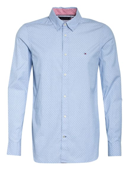 TOMMY HILFIGER Hemd Slim Fit, Farbe: HELLBLAU (Bild 1)
