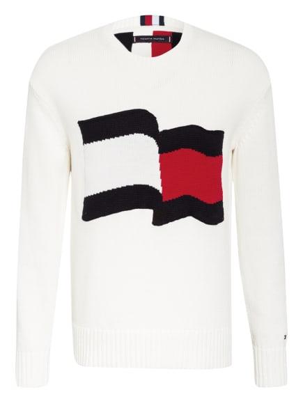 TOMMY HILFIGER Pullover, Farbe: WEISS/ DUNKELBLAU/ ROT (Bild 1)
