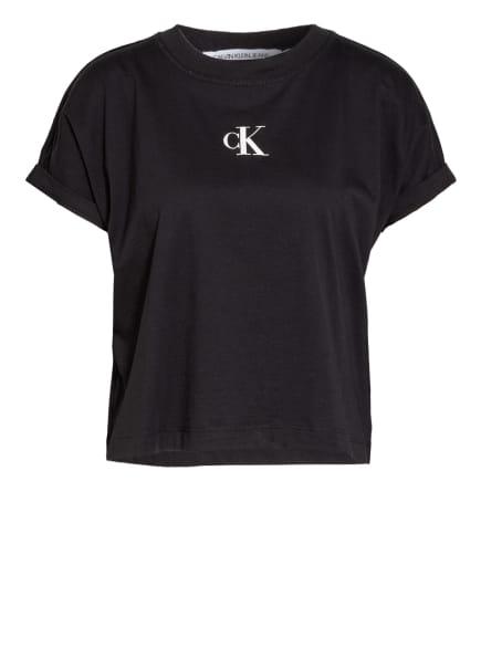 Calvin Klein Jeans T-Shirt, Farbe: SCHWARZ/ WEISS (Bild 1)
