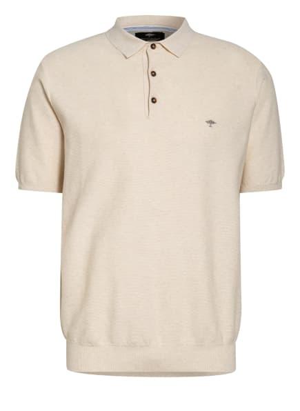 FYNCH-HATTON Piqué-Poloshirt Casual Fit, Farbe: CREME/ ECRU (Bild 1)