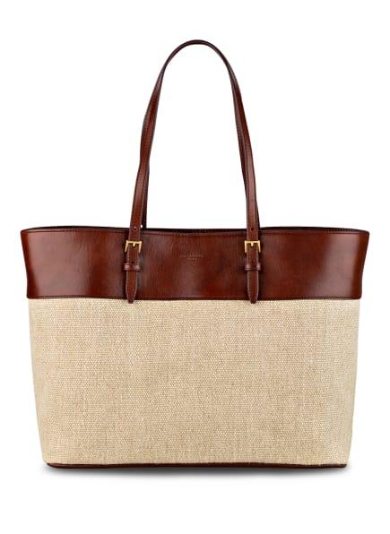 SAINT LAURENT Shopper , Farbe: BRAUN/ BEIGE (Bild 1)