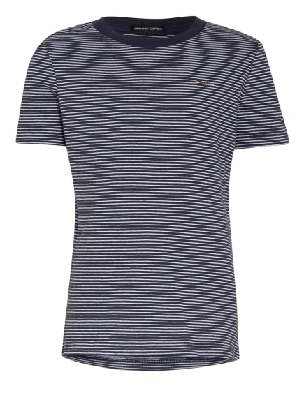 TOMMY HILFIGER T-Shirt, Farbe: DUNKELBLAU/ WEISS (Bild 1)