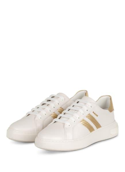 BALLY Sneaker MARCUS, Farbe: WEISS/ GOLD (Bild 1)