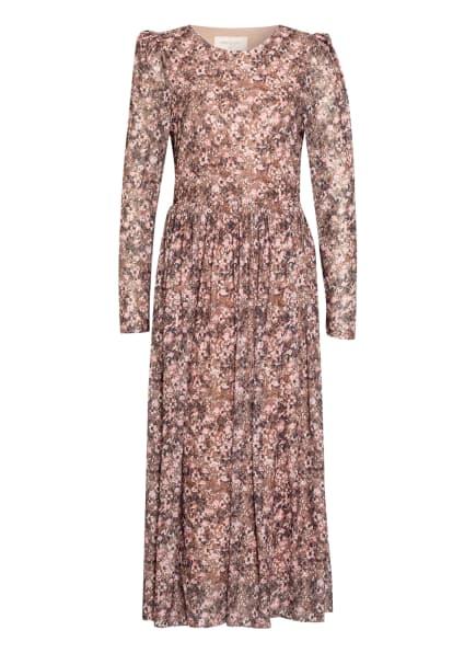 FREEQUENT Kleid FQSANNIE, Farbe: BRAUN/ DUNKELBRAUN/ HELLROSA (Bild 1)