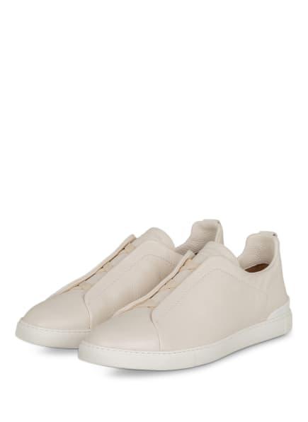 Ermenegildo Zegna Slip-on-Sneaker , Farbe: CREME (Bild 1)