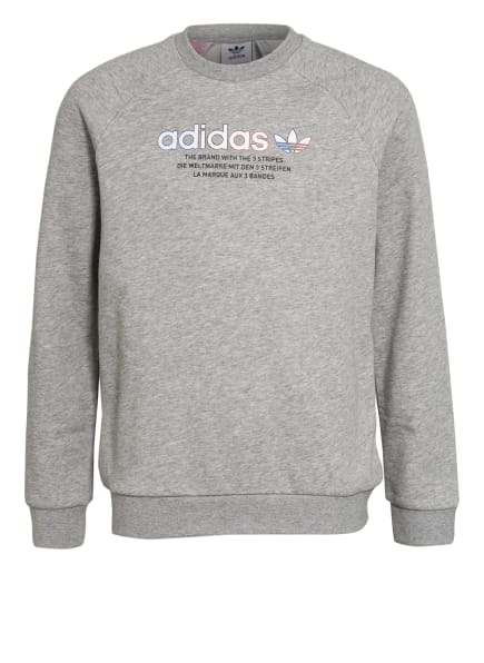 adidas Originals Sweatshirt, Farbe: HELLGRAU (Bild 1)