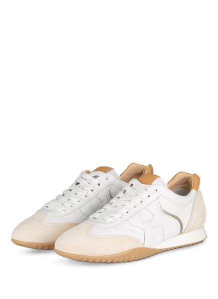 HOGAN Sneaker H565, Farbe: CREME/ WEISS (Bild 1)