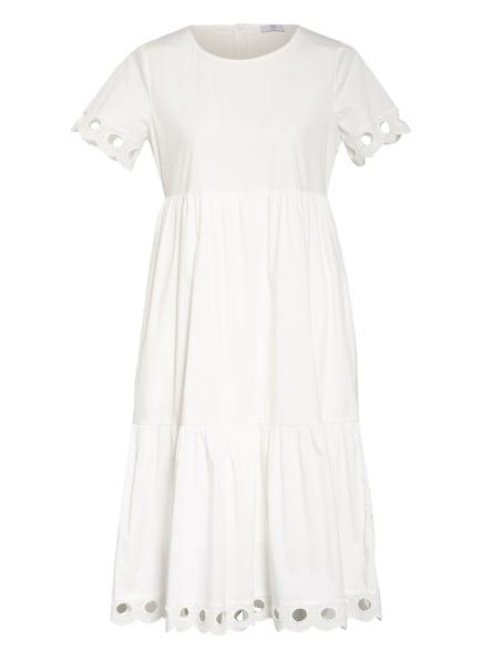 RIANI Kleid mit Lochspitze, Farbe: WEISS (Bild 1)