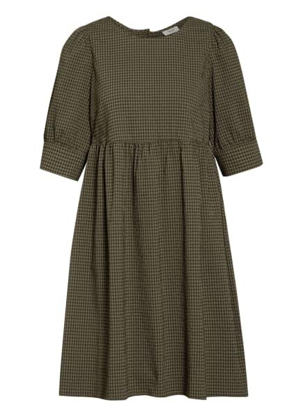 Marc O'Polo DENIM Kleid mit 3/4-Arm, Farbe: OLIV (Bild 1)