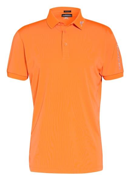 J.LINDEBERG Funktions-Poloshirt Regular Fit, Farbe: ORANGE (Bild 1)