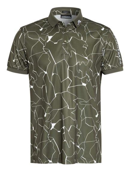 J.LINDEBERG Funktions-Poloshirt Regular Fit, Farbe: GRÜN/ WEISS (Bild 1)