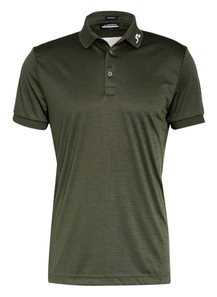 J.LINDEBERG Funktions-Poloshirt Regular Fit, Farbe: DUNKELGRÜN/ WEISS (Bild 1)