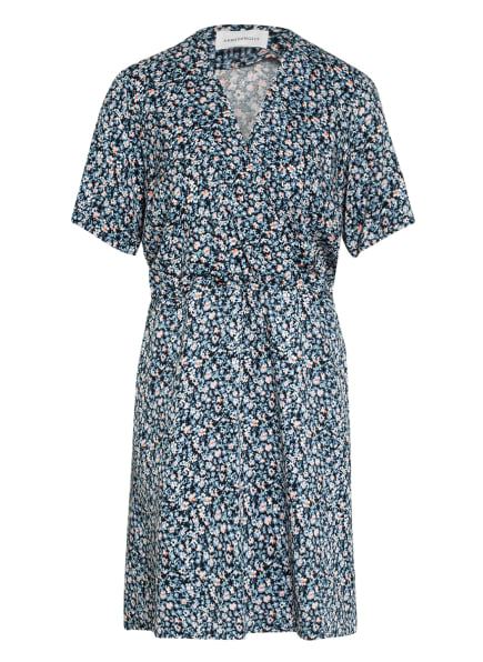 ARMEDANGELS Kleid AIRAA, Farbe: DUNKELBLAU/ WEISS/ HELLROSA (Bild 1)