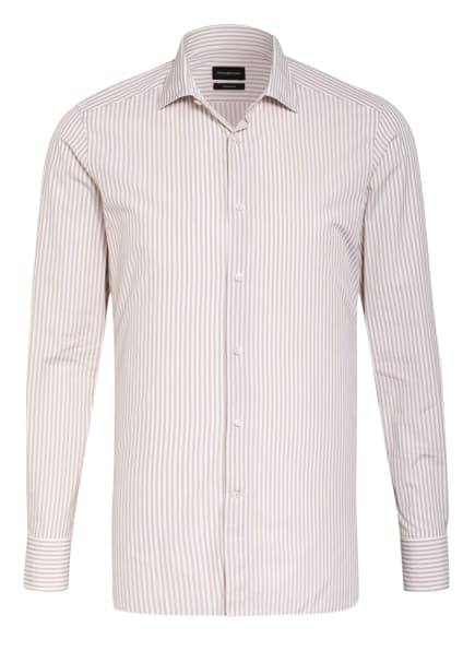 Ermenegildo Zegna Hemd TROFEO Slim Fit, Farbe: WEISS/ BEIGE (Bild 1)
