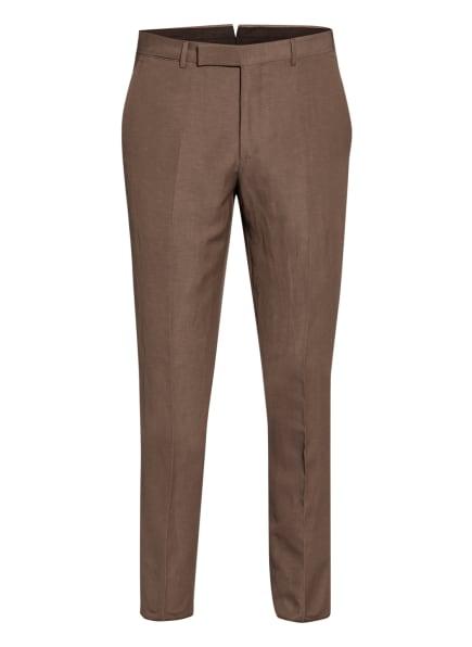 Ermenegildo Zegna Anzughose TROFEO Slim Fit mit Leinen, Farbe: 921F09 Brown (Bild 1)