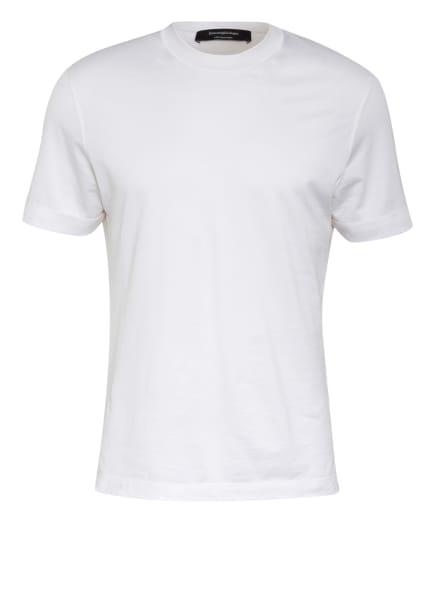 Ermenegildo Zegna T-Shirt mit Seide, Farbe: WEISS (Bild 1)