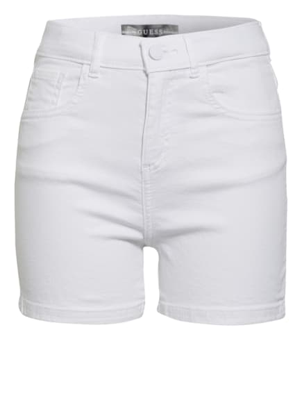 GUESS Jeans-Shorts Regular Fit, Farbe: WEISS (Bild 1)