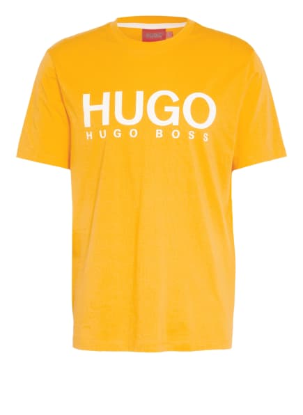 HUGO T-Shirt DOLIVE, Farbe: DUNKELGELB (Bild 1)