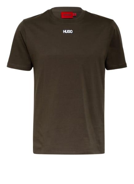 HUGO T-Shirt DURNED, Farbe: KHAKI (Bild 1)