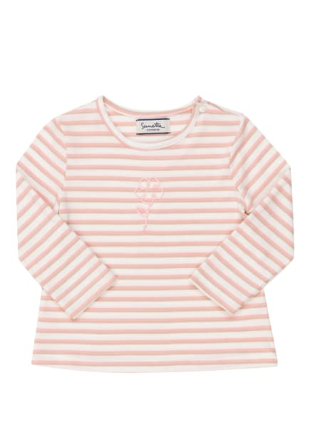 Sanetta FIFTYSEVEN Longsleeve, Farbe: ROSA/ WEISS/ TAUPE (Bild 1)