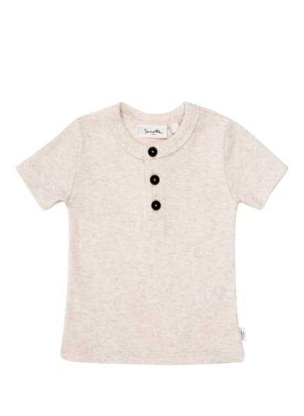 Sanetta PURE T-Shirt, Farbe: ECRU/ HELLGRAU (Bild 1)