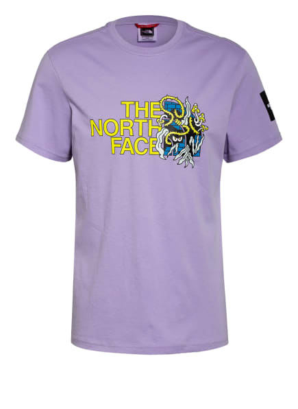 THE NORTH FACE T-Shirt BLACK BOX, Farbe: HELLLILA/ GELB/ SCHWARZ (Bild 1)