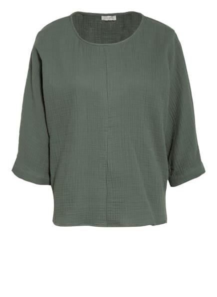 JcSophie Oversized-Shirt GILDA mit 3/4-Arm, Farbe: GRÜN (Bild 1)