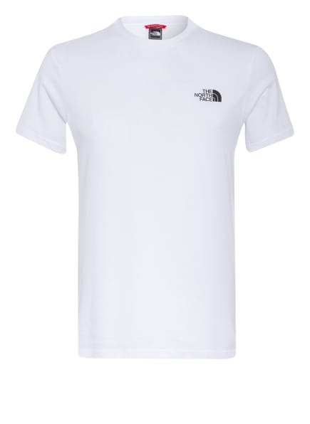 THE NORTH FACE T-Shirt SIMPLE DOME, Farbe: WEISS/ SCHWARZ (Bild 1)