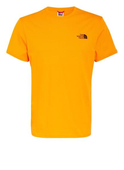 THE NORTH FACE T-Shirt SIMPLE DOME, Farbe: PKH LIGHT EXUBERANCE ORANGE (Bild 1)