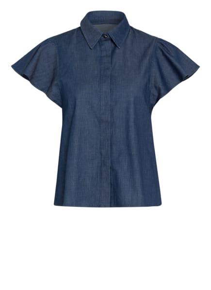 MAX & Co. Bluse in Jeansoptik, Farbe: DUNKELBLAU (Bild 1)
