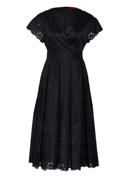 MAX & Co. Kleid ODE mit Lochspitze, Farbe: SCHWARZ (Bild 1)