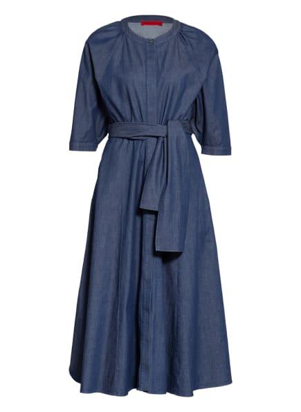MAX & Co. Jeanskleid mit 3/4-Arm, Farbe: DUNKELBLAU/ BLAU (Bild 1)