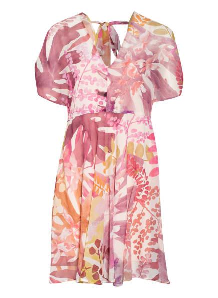 MAX & Co. Kleid ATTESA, Farbe: WEISS/ DUNKELROT/ HELLORANGE (Bild 1)