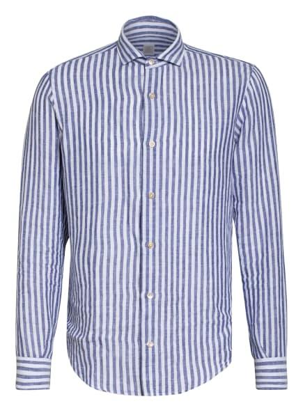 eleventy Leinenhemd Regular Fit, Farbe: BLAU/ WEISS (Bild 1)