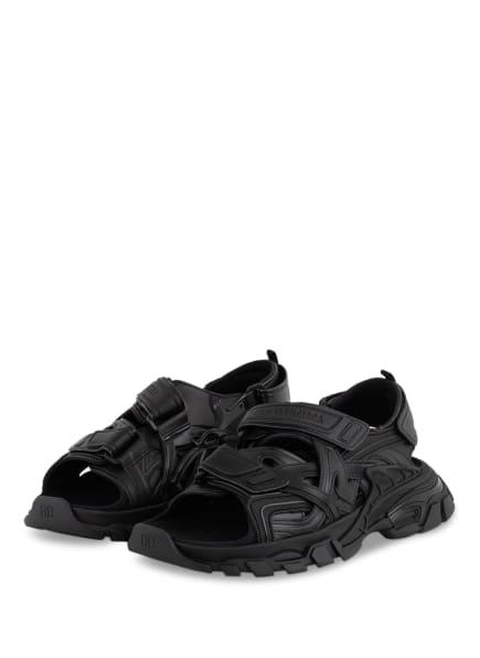 BALENCIAGA Sandalen STRAP, Farbe: SCHWARZ (Bild 1)