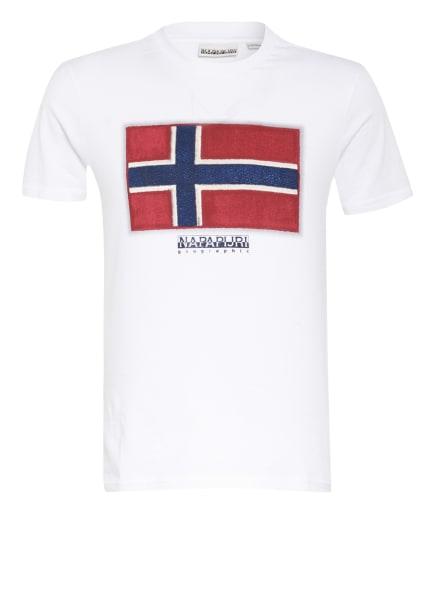 NAPAPIJRI T-Shirt SIROL, Farbe: WEISS (Bild 1)
