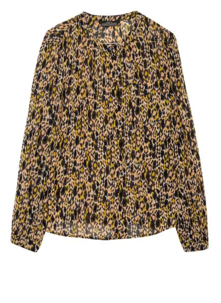 SET Bluse, Farbe: SCHWARZ/ NUDE/ GELB (Bild 1)