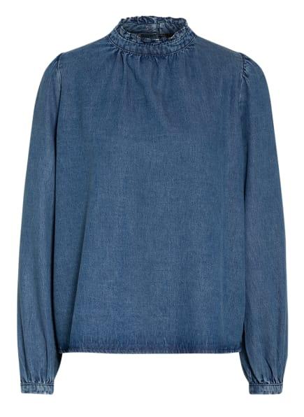 SET Jeansbluse, Farbe: DUNKELBLAU/ BLAU (Bild 1)