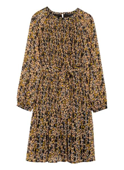 SET Kleid, Farbe: SCHWARZ/ GELB/ NUDE (Bild 1)