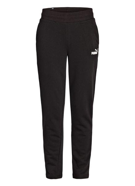 PUMA Sweatpants ESSENTIALS, Farbe: SCHWARZ/ WEISS (Bild 1)